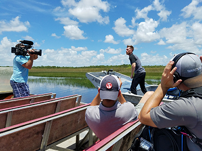 Everglades with ESPN Marty Smith